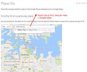 Pozycjonowanie się : zadbaj o opinie w wizytówce Google Maps, zdobądź PLACE ID
